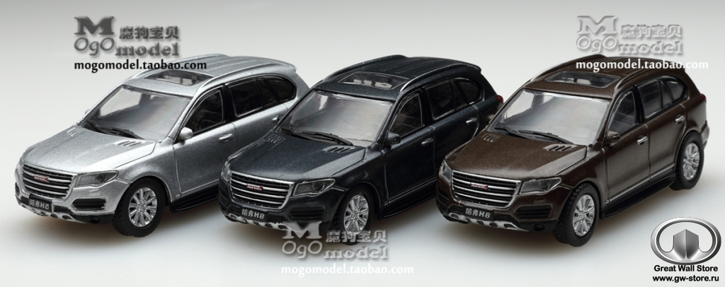 Great Wall HAVAL H8 (1:64)